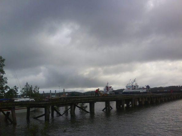 Dermaga Babo, Pusat Keberangkatan boat kekawasan sekitar teluk bintuni